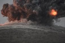 [Infographics] Chiến dịch không kích IS của liên quân ở Iraq và Syria