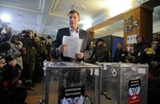 Nga công nhận kết quả bầu cử tại Lugansk và Donesk