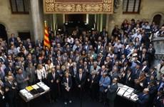 Chính quyền Catalonia đề nghị tổ chức thăm dò dư luận về độc lập