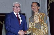 Indonesia thúc đẩy hợp tác song phương với Trung Quốc và Đức