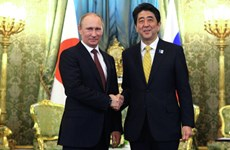 Lãnh đạo Nhật - Nga khẳng định sẽ đối thoại về tranh chấp lãnh thổ