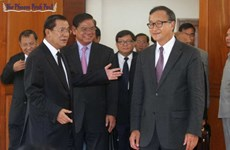 Campuchia: Hun Sen gặp Sam Rainsy để giải quyết bất đồng