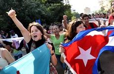 Người dân Cuba vui mừng trước thỏa thuận quan hệ với Mỹ