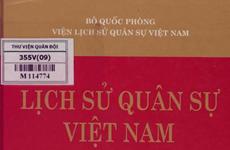 Công bố hai bộ sách về Lịch sử, tư tưởng Quân sự Việt Nam
