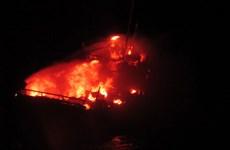 Tàu cá Pakistan tự kích nổ khi bị Hải quân Ấn Độ truy đuổi
