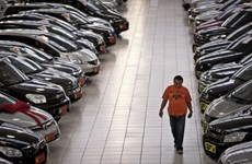 Sản lượng và xuất khẩu ôtô của Brazil giảm trong năm 2014