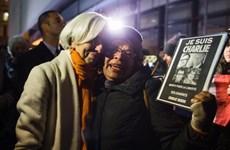 Người dân Bỉ tưởng niệm các nạn nhân vụ xả súng tại Pháp