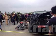 Hưng Yên: Xe quân đội gây tai nạn làm 4 người chết chiều 30 Tết