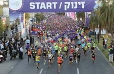 Cuộc thi marathon thường niên tại Israel phải kết thúc sớm
