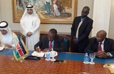 Kenya, Qatar ký thoả thuận thành lập Trung tâm tài chính quốc tế