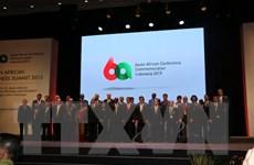 Hội nghị Thượng đỉnh Kinh doanh Á-Phi thúc đẩy hợp tác kinh tế