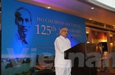 Kỷ niệm 125 năm Ngày sinh Chủ tịch Hồ Chí Minh tại Ấn Độ