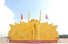 Khánh thành Đài tưởng niệm các liệt sỹ Việt-Lào tại Champasac