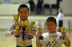 Hai tài năng nhí người Việt Nam trong làng khiêu vũ tại Nga