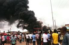 Nổ trạm xăng ở thủ đô của Ghana làm gần 80 người thiệt mạng