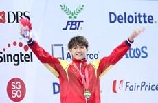 Hoàng Quý Phước mang thêm HCV về cho Đoàn Thể thao Việt Nam