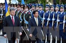 Nhật Bản cam kết hỗ trợ 1,5 tỷ USD cho Ukraine tái thiết