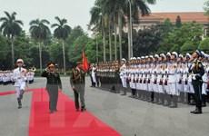 Việt Nam và Brunei tăng cường hợp tác trong lĩnh vực quốc phòng