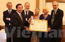 Tổ chức từ thiện Anh 50 năm hỗ trợ y tế cho 3 nước Đông Dương