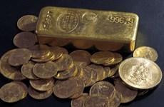 Vàng ghi nhận tuần tăng giá đầu tiên trong vòng bốn tuần qua
