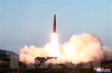 Nhật Bản: Triều Tiên thử loại tên lửa mới khó đánh chặn hơn