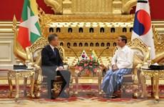 Myanmar và Hàn Quốc tăng cường hợp tác về kinh tế