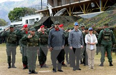 Venezuela ban bố báo động cam tại khu vực giáp Colombia