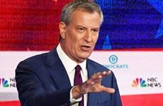 Bầu cử Mỹ 2020: Thị trưởng New York rút khỏi 'đường đua'