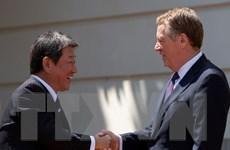 Ngoại trưởng Nhật Bản tự tin về kết quả đàm phán thương mại với Mỹ