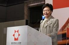 Bà Carrie Lam: 'Tìm kiếm sự thay đổi để cải thiện xã hội Hong Kong'