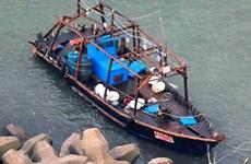 Biên phòng Nga tiếp tục bắt giữ nhiều tàu cá của Triều Tiên