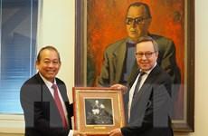 Phần Lan coi trọng phát triển quan hệ hợp tác nhiều mặt với Việt Nam