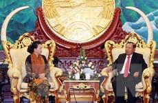 Chủ tịch Quốc hội Nguyễn Thị Kim Ngân kết thúc tốt đẹp chuyến thăm Lào