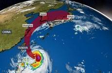Đài Loan hủy 150 chuyến bay do ảnh hưởng của bão Mitag