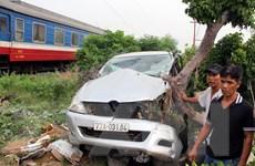Phú Yên: Tai nạn đường sắt làm một người bị thương