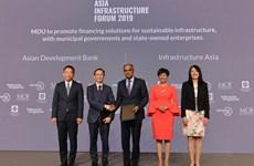 Diễn đàn Hạ tầng châu Á thúc đẩy phát triển cơ sở hạ tầng khu vực