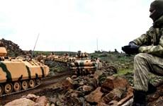 Thổ Nhĩ Kỳ chuẩn bị và triển khai cho chiến dịch quân sự tại Syria