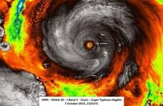 Nhật Bản: Cảnh báo bão Hagibis gây mưa lớn, đổ bộ vào cuối tuần