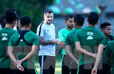 Huấn luyện viên Indonesia thừa nhận đội bóng 'đã ở thế chân tường'