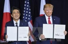 Quốc hội Nhật sẽ xem xét thông qua thỏa thuận thương mại với Mỹ