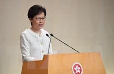 Lãnh đạo Hong Kong buộc phải dừng phát biểu vì sự phản đối của nghị sỹ