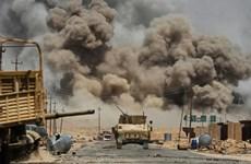 Liên quân chống IS không kích phá hủy kho đạn tại Syria