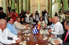 Tây Ban Nha thúc đẩy quan hệ hợp tác trên nhiều lĩnh vực với Cuba