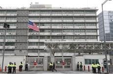 Cảnh sát Hàn Quốc bắt 19 sinh viên xâm nhập nhà của Đại sứ Mỹ