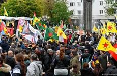 Tuần hành tại Đức yêu cầu Thổ Nhĩ Kỳ chấm dứt chiến dịch tại Syria