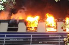 Đức: Cháy tàu điện chở các cổ động viên bóng đá tại thủ đô Berlin
