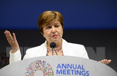 IMF cảnh báo triển vọng 'vô cùng bất ổn' của kinh tế toàn cầu