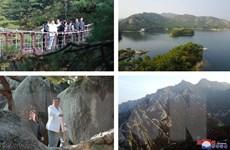 Hàn Quốc giải thích việc đình chỉ các tour du lịch tới Núi Kumgang