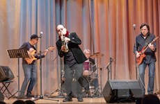 Giao lưu văn hóa thông qua hòa nhạc Jazz Nga-Việt tại Moskva