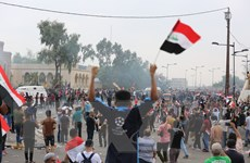 Iraq: Hàng trăm người biểu tình đòi thủ tướng Mahdi từ chức